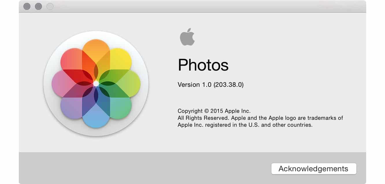 Apple Photos for Mac