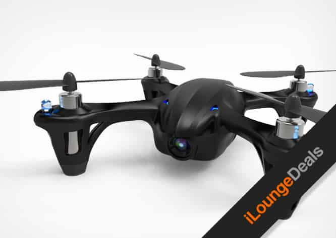 Daily Deal: Last Chance to get the Code Black Drone w/HD Camera for 55% off