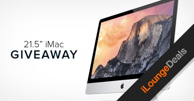 Daily Deal: Last chance to enter our iMac Giveaway