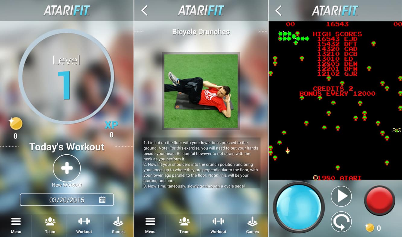 Atari Fit, Launcher, Stormblades, Camera+ 6.2, GoodReader 4.1 + IMDb 5.0