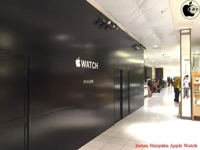 Apple Watch shop pops up in Tokyo department store