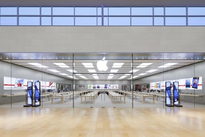 Apple Store effect wins company lower mall rents