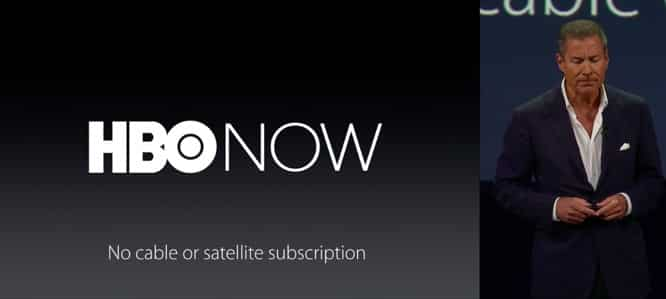 Apple unveils HBO Now channel on Apple TV