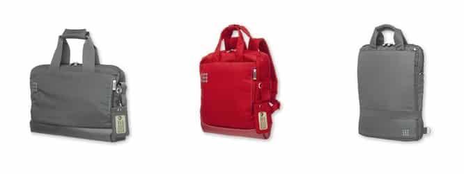 Moleskine myCloud Briefcase, myCloud Smallpack + Vertical Device Bag