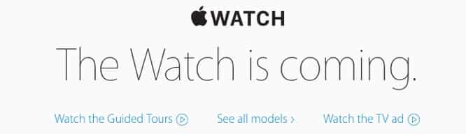 In-store sales of Apple Watch delayed until at least June