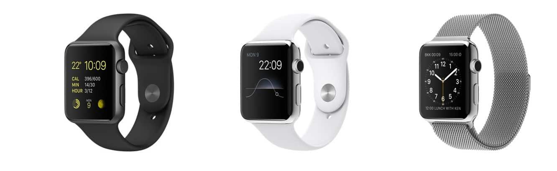 Apple Watch Sport, 42mm case and black Sport band top pre-sale estimates