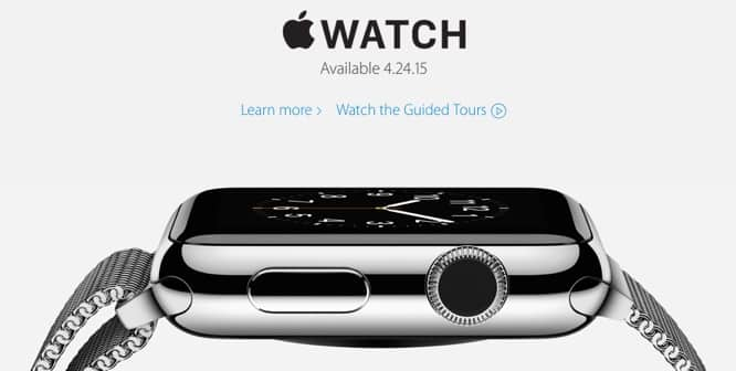 Apple confirms online-only sales for Apple Watch at launch