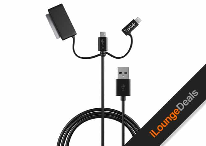 Daily Deal: Tego 3-in-1 MFi-Certified Cable