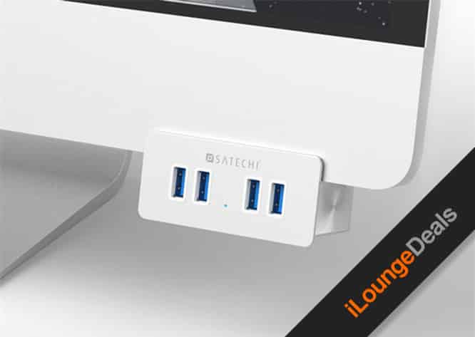 Daily Deal: 29% off the Premium Aluminum 4-Port USB Clamp Hub