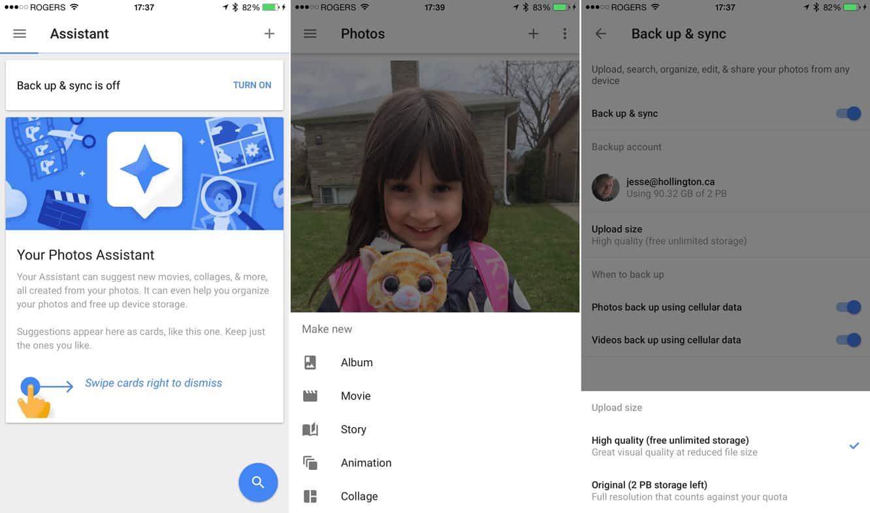 Google Photos, Korg iM1, Moleskine Timepage, AmpliTube 4.0, Inbox by Gmail, Pixelmator for iPhone