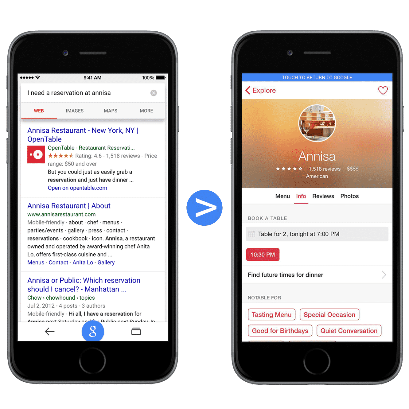 Google Search will soon surface content from iOS apps
