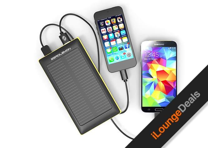 Daily Deal: ZeroLemon SolarJuice 10000mAh Battery