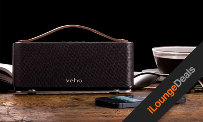 Daily Deal: Veho Retro Leather Bluetooth Speaker – 63% Off