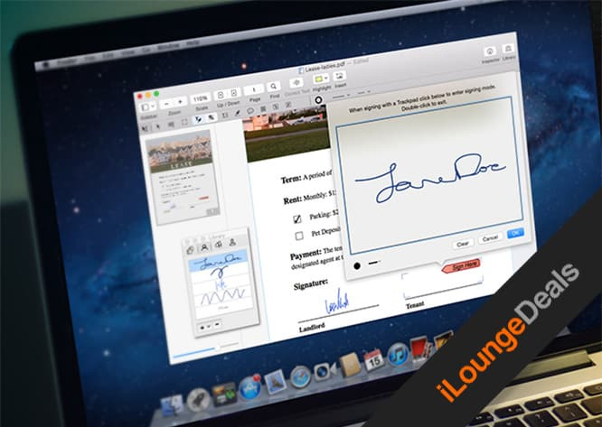 Daily Deal: PDFPen Pro – the all-purpose PDF Editor for Mac