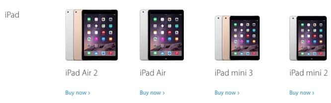 Original iPad mini disappears from Apple's website