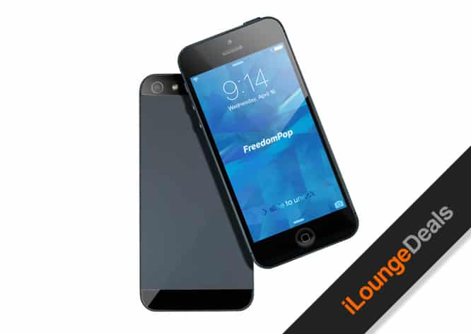 Daily Deal: iPhone 5 & 1-Yr FreedomPop Unlimited Talk-and-Text