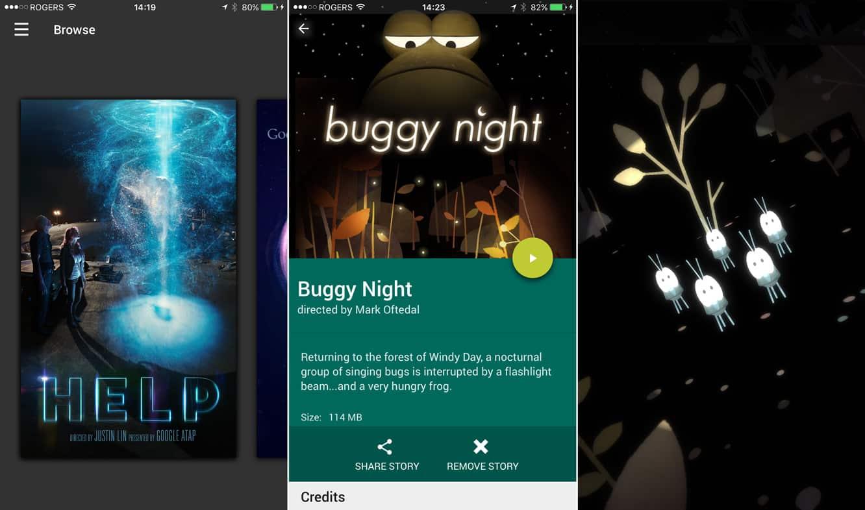 Google Spotlight Stories, PAC-MAN Championship Edition DX, Stupid Zombies 3 + more