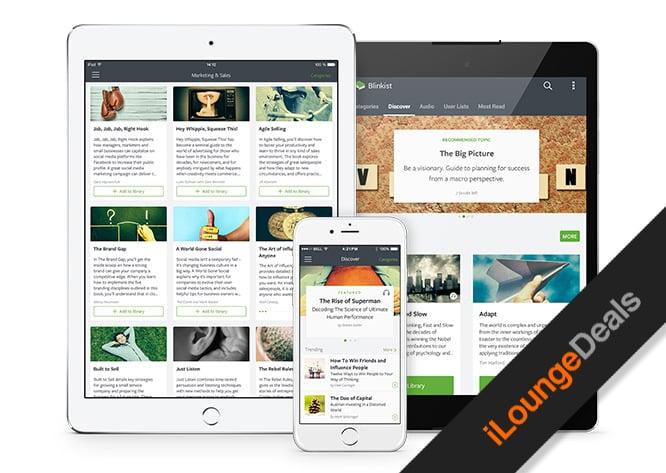 Daily Deal: Blinkist Premium, 1 Year Subscription