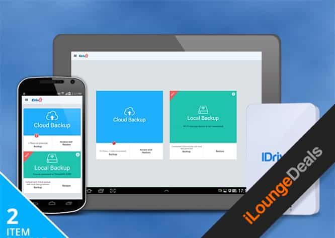 Daily Deal: IDrive 1TB Wi-Fi Drive & 1TB Cloud Backup Bundle