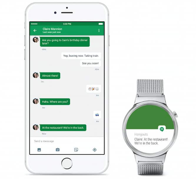 Google releases iOS app that links some Android Wear watches to newer iPhones