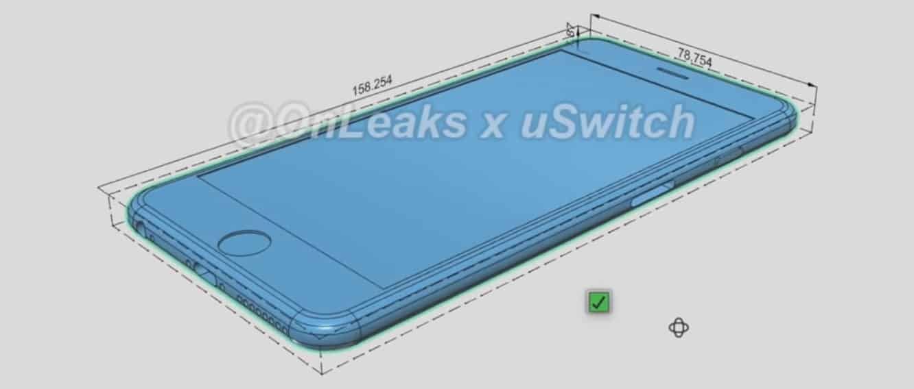 Leaked photos suggest thicker, Force Touch-equipped iPhones