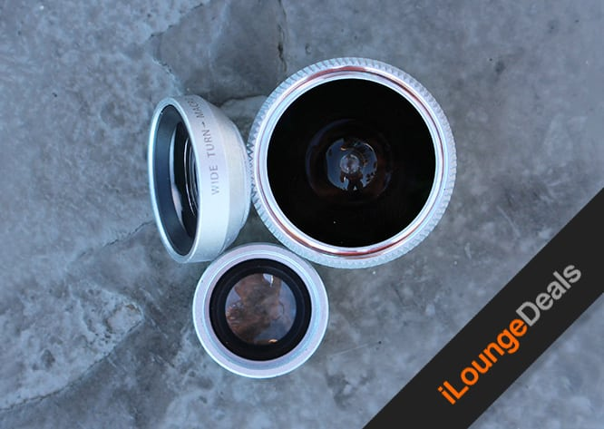 Daily Deal: 3-in-1 Smartphone Photography Lenses