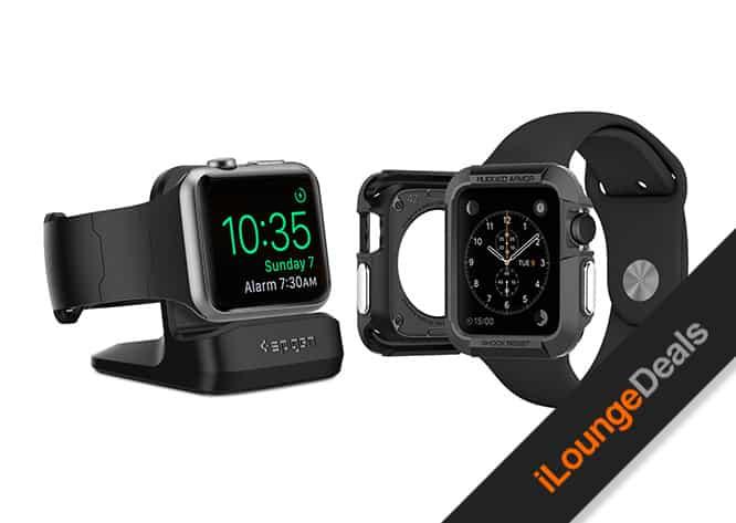 Daily Deal: Spigen Rugged Armor Apple Watch Case & Night Stand