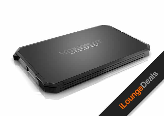 Daily Deal: LithiumCard Wallet Battery with Smartphone Charger
