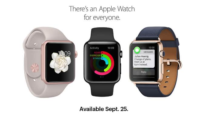 Sprint to sell Apple Watch starting Sept. 25, T-Mobile teases debut