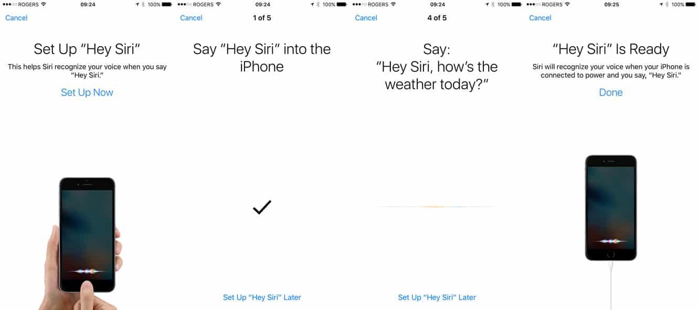 Apple adds 'Hey Siri' training mode in iOS 9 GM