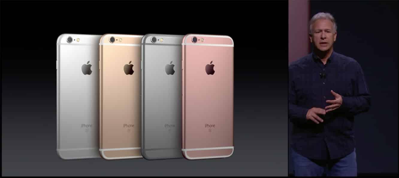 Apple announces iPhone 6s, iPhone 6s Plus
