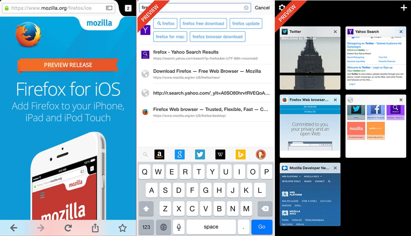 Mozilla begins rollout of Firefox for iOS preview