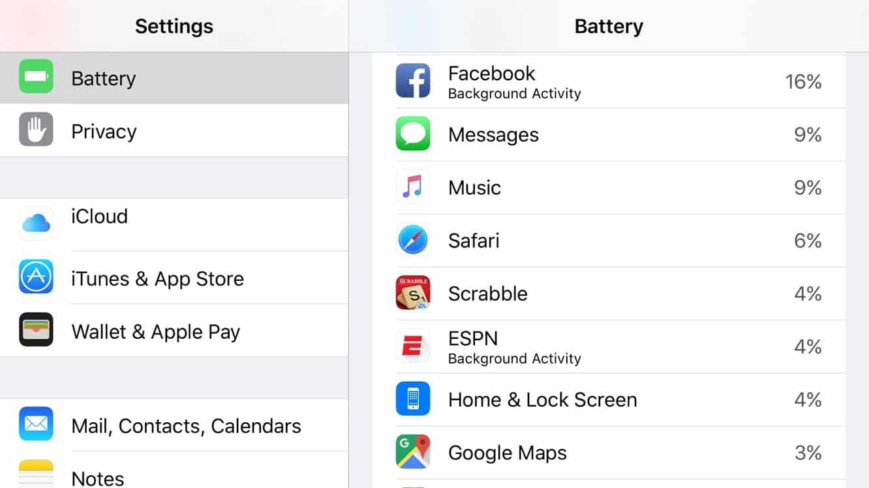 Facebook responds to battery problems regarding iOS app