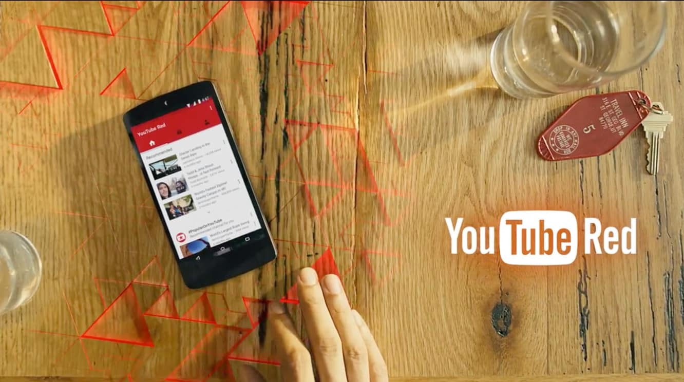 Google launches YouTube Red Subscription service