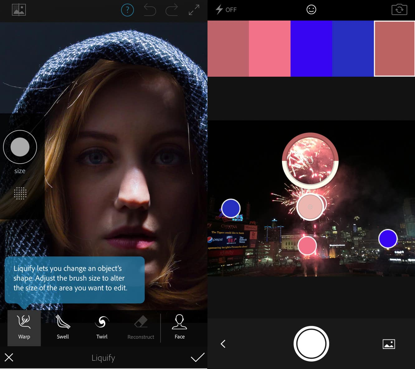 Adobe releases Photoshop Fix, Capture CC apps for iOS