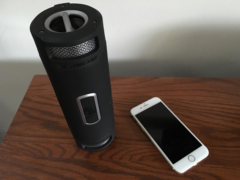 Review: Scosche boomBOTTLE+ Waterproof Wireless Speaker