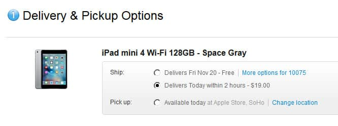 Apple expands NYC same-day delivery, brings personal pickup to Canada + Australia