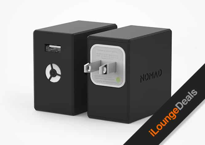 Daily Deal: NomadPlus Smartphone Wall Charger & Battery Pack
