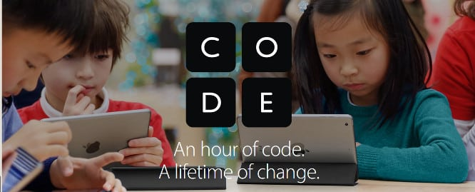 Apple opens registration for Hour of Code children's workshops