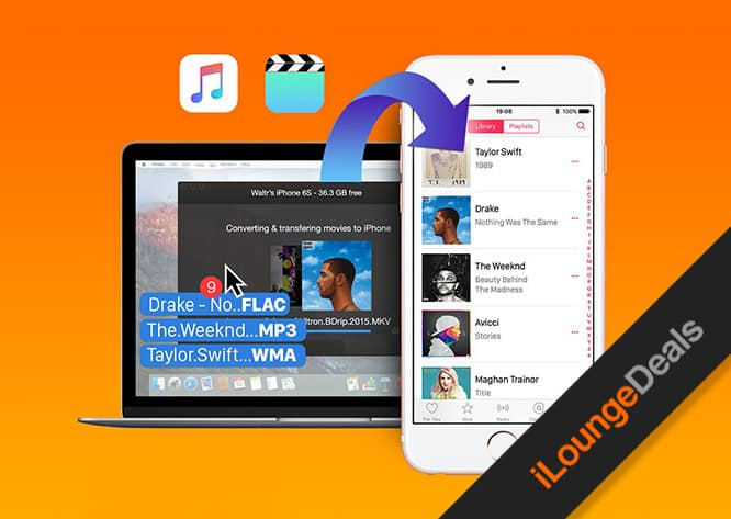 Daily Deal: WALTR Audio/Video Uploader for Mac