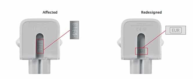 Apple issues voluntary recall for certain AC wall plug adapters