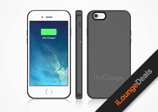 Daily Deal: ThinCharge iPhone 6/6S Battery Case