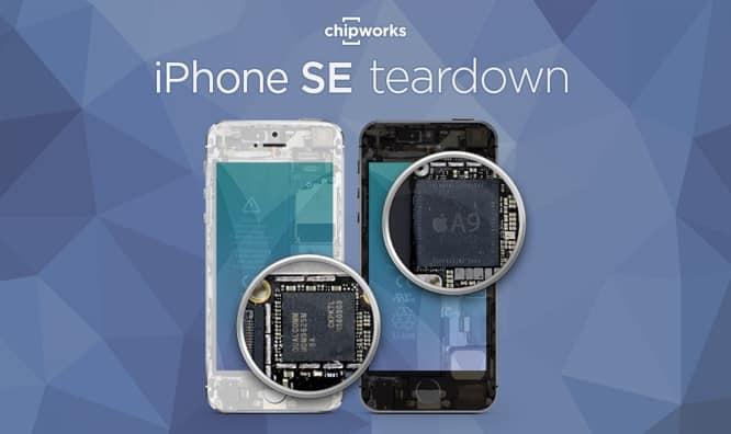 Chipworks posts first iPhone SE Teardown