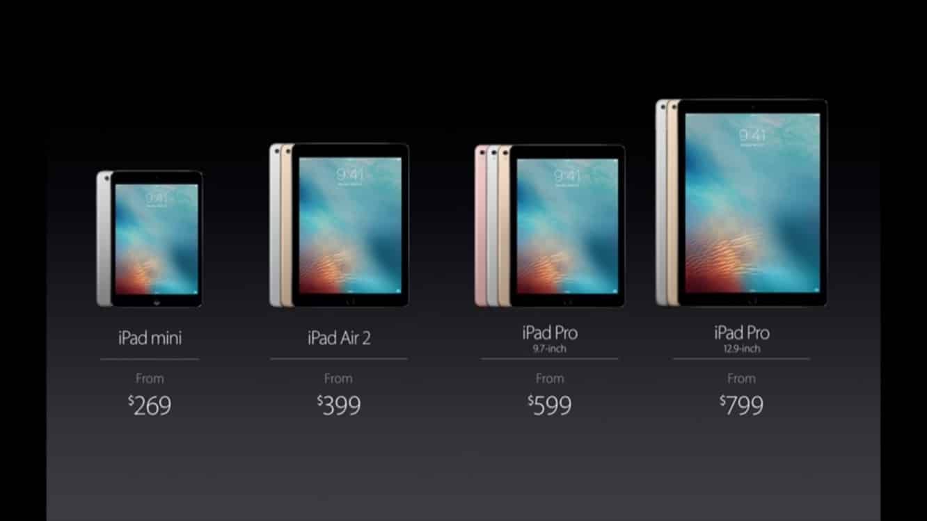 Apple reduces iPad Air 2 pricing to $399, drops 128GB model
