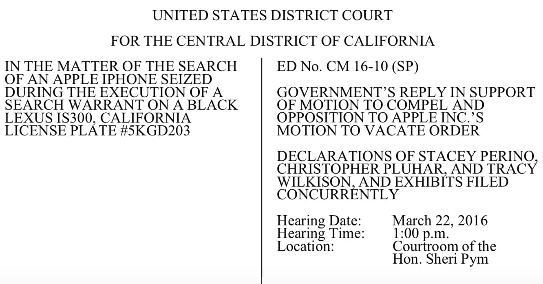 DOJ raises stakes in iPhone case, Apple chief counsel calls DOJ filing a 'cheap shot'