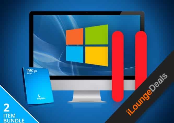 Daily Deal: Parallels Desktop 11 & SSD2go 128GB USB Drive Bundle