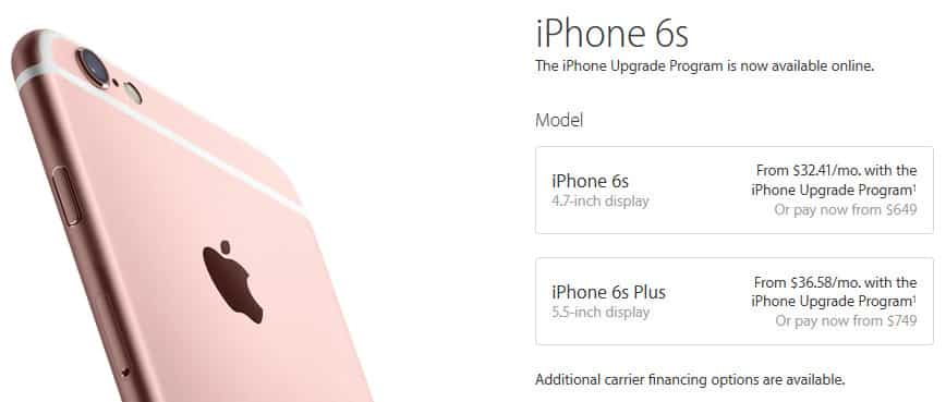 Apple extends iPhone Upgrade Program to online store