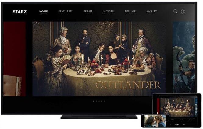 Starz launches subscription app for iOS, Apple TV