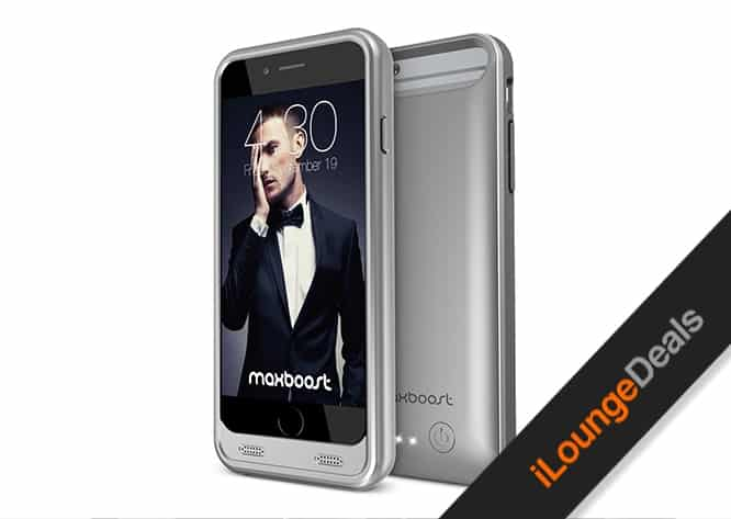 Daily Deal: Maxboost 3100mAh Battery Case for iPhone 6/6s