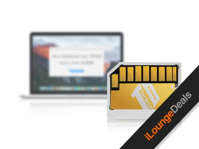 Daily Deal: TarDisk 64GB MacBook Drive Expansion
